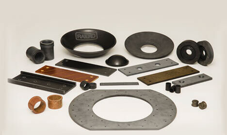 Bearings Wear Parts - TENMAT