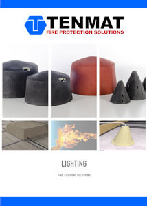 TENMAT Lighting Fire Stopping Solutions Brochure