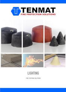 TENMAT Lighting Fire Stopping Solutions Brochure