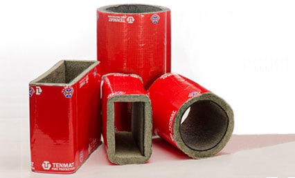 Vent Duct Fire Sleeves - TENMAT