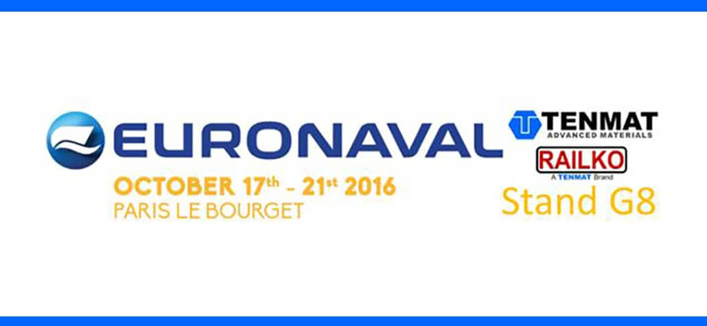 TENMAT is Exhibiting at EURONAVAL 2016