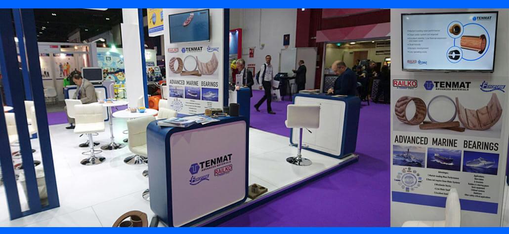 TENMAT is Exhibiting at Seatrade Maritime 2016