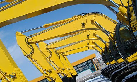 Heavy Machinery Applications - TENMAT