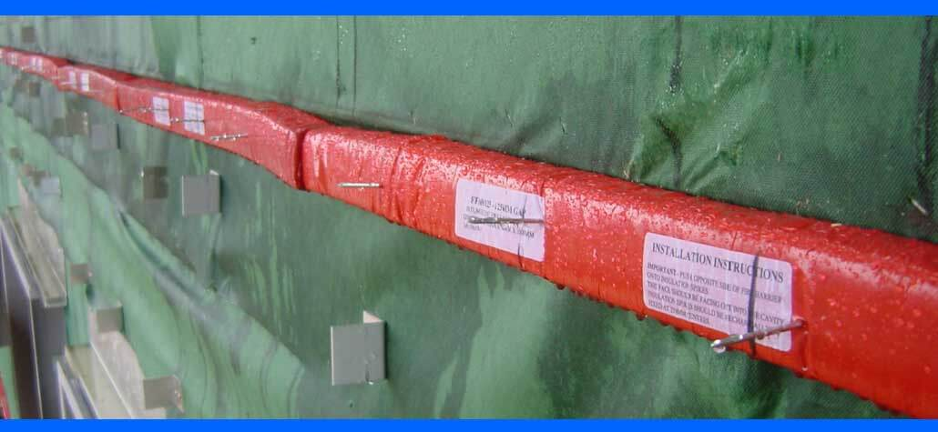 TENMAT Ventilated Fire Barriers for combustible cavities and cladding