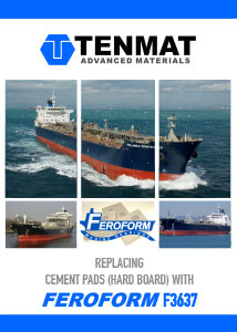 TENMAT Feroform f3637 Cement Boards - Japanese Brochure